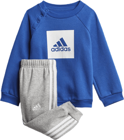 3-Stripes Fleece Jogger Set Blue