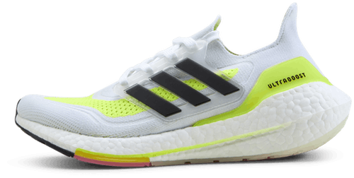 UltraBOOST 21 Women White/Yellow