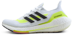 UltraBOOST 21 Men White/Yellow