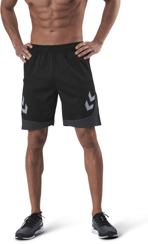Poly Shorts Black