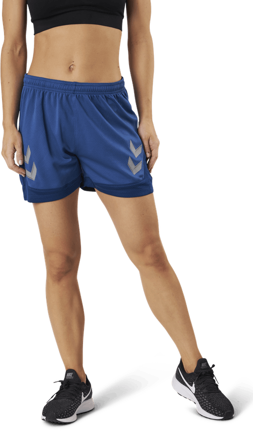Poly Shorts Blue