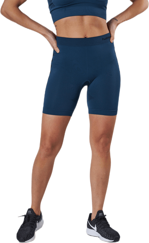Seamless Training Tights Blue