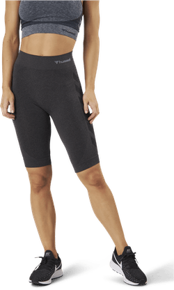 Seamless Cycling Shorts Black