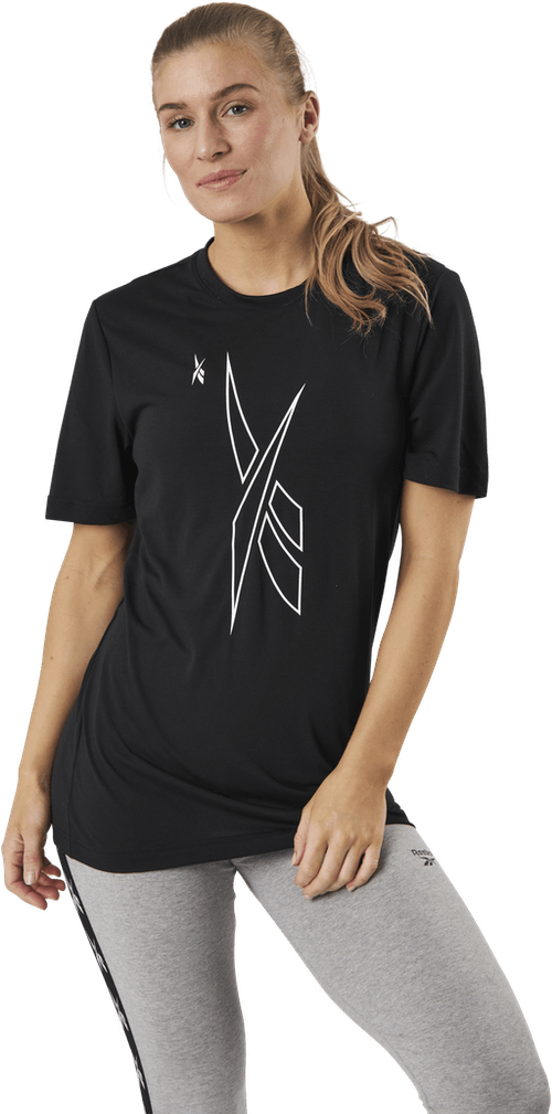 Myt Ss Graphic Tee Black