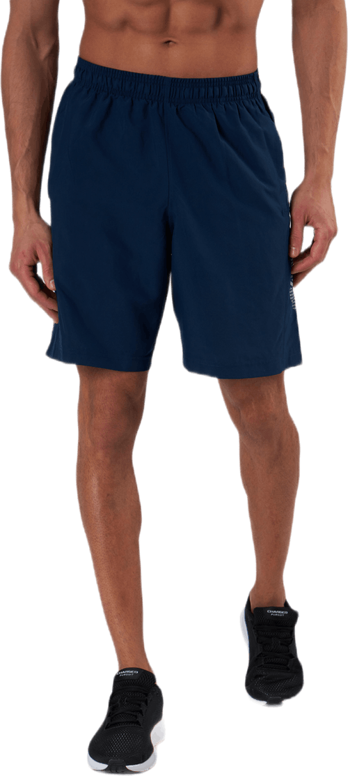 Woven Graphic Short Blue