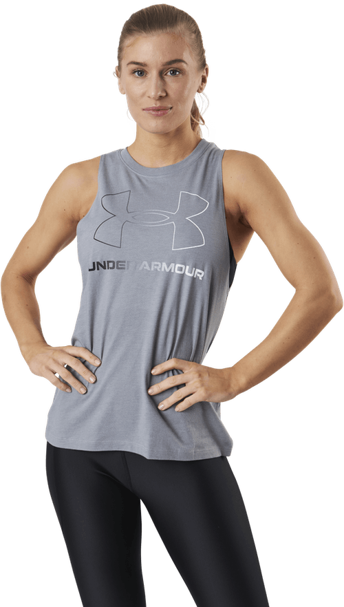 Sportstyle Graphic Tank Grey