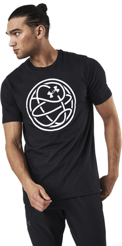 Hoops Icon Tee Black