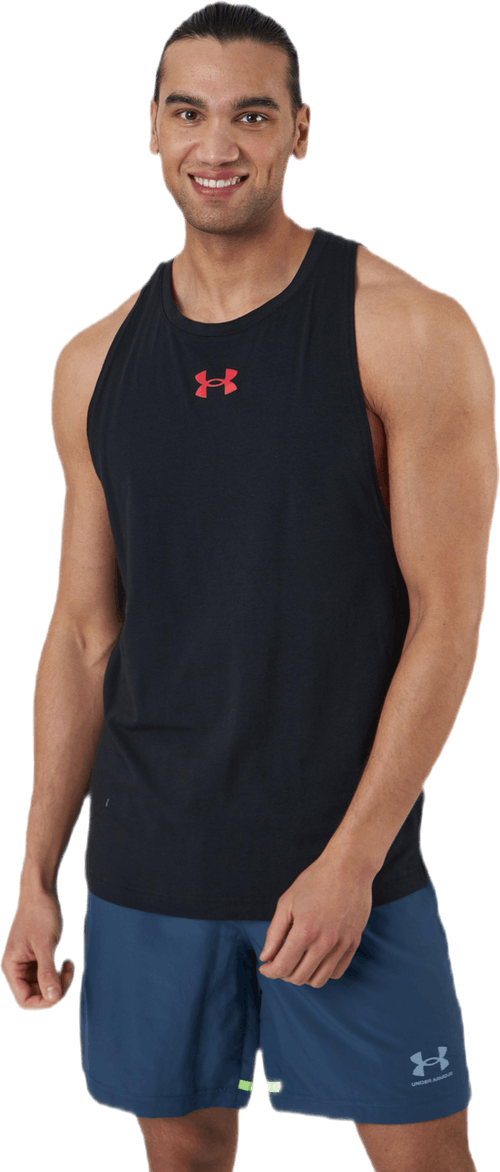 Baseline Cotton Tank Black