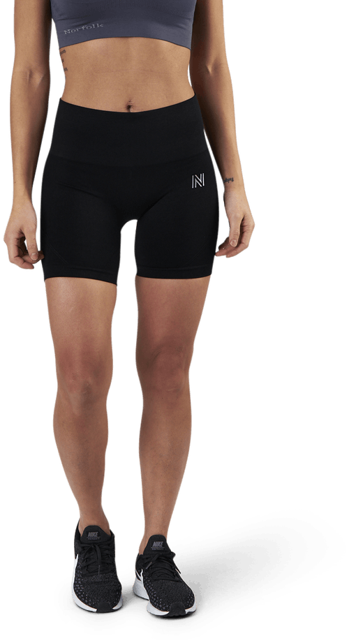 Erica Seamless Biker Shorts Black