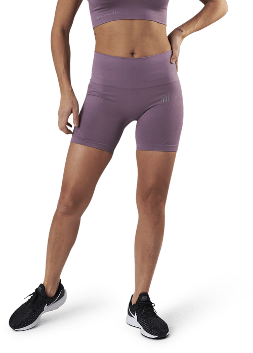 Erica Seamless Biker Shorts Purple