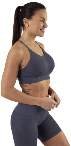 Alexa Sports Bra Blue