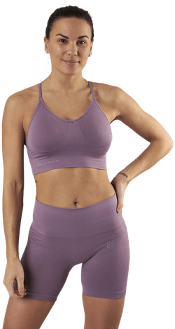 Alexa Sports Bra Purple