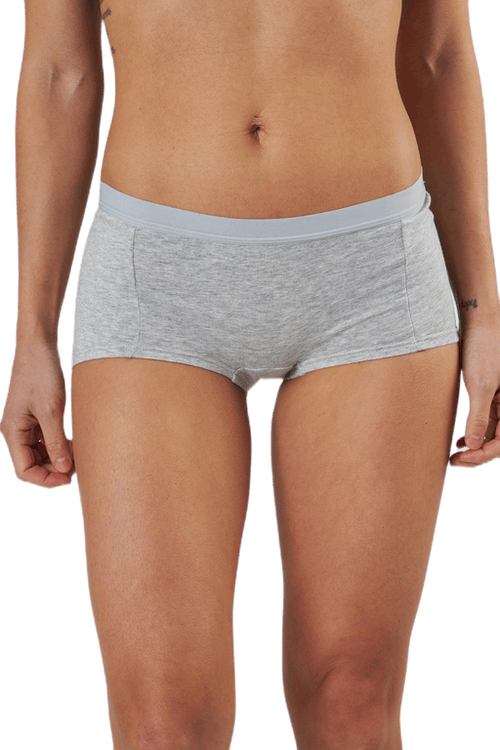 Mia Solid Minishorts 3-Pack White/Black