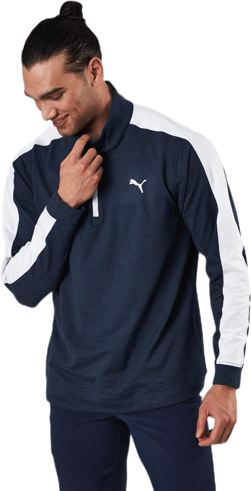 Cloudspun T7 1/4 Zip Blue