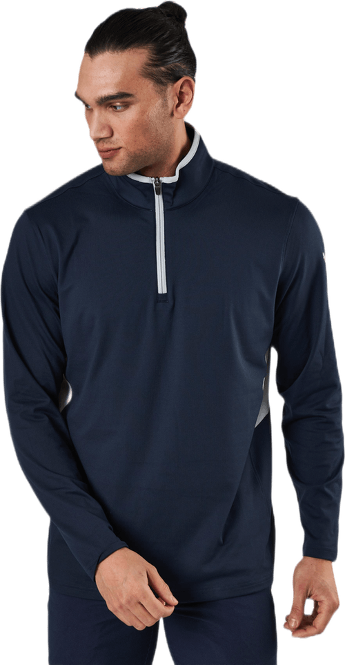 Rotation 1/4 Zip Blue