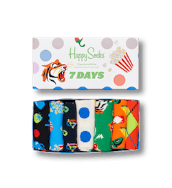 7 Days 7-Pack Gift Box Patterned