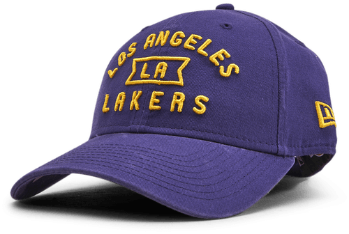 Lakers Vintage Front Blue 9Forty
