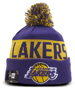 Lakers Knit Hat Kids