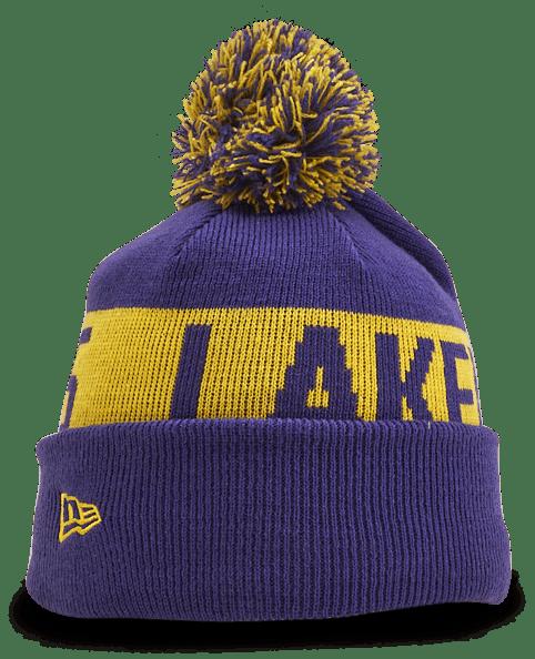 Lakers Knit Hat Kids