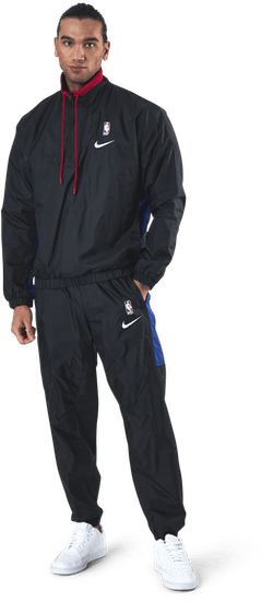 Nba Team 31 Courtside Tacksuit Black/Rush Blue/University Red