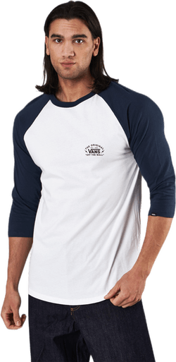 Bolt Action Raglan White
