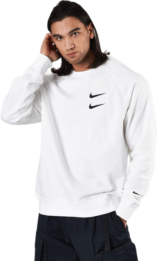 French Terry Crewneck White
