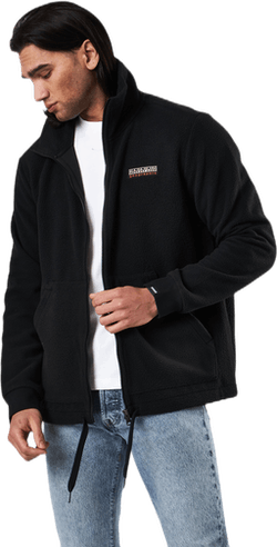 Tasse Fleece Jacket Black