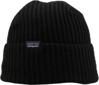 Fisherman´s Rolled Beanie Black