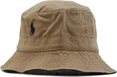 Chambray Bucket Hat Khaki