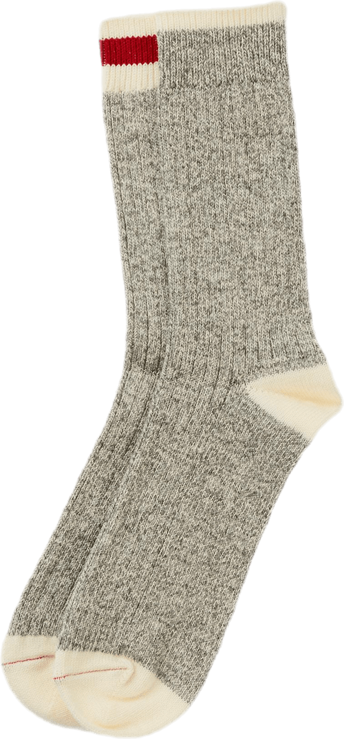 2-pack Ragg Socks Gray