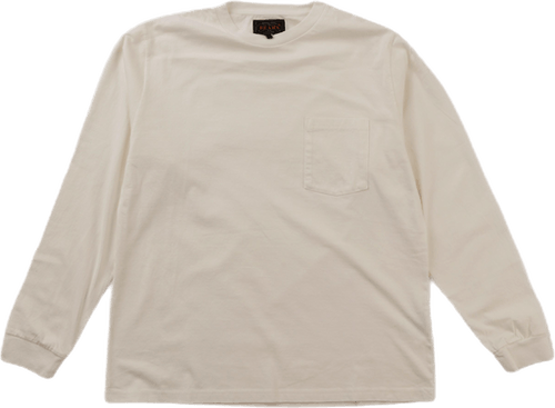 Pocket Tee 40/2 White