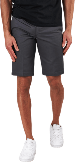 11´ Slim Straight Work Shorts Gray