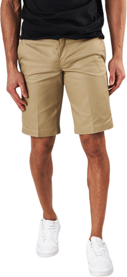 11´ Slim Straight Work Shorts Khaki
