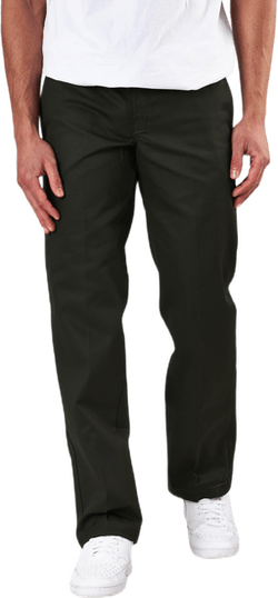 873 Slim Straight Work Pant Green