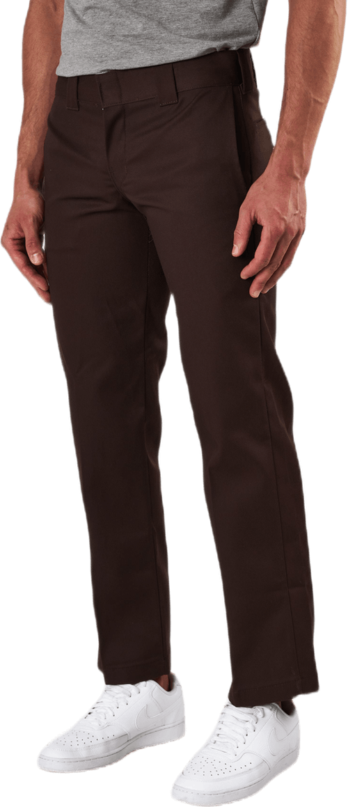 873 Slim Straight Work Pant Brown