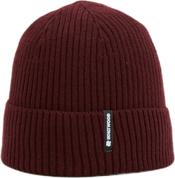 Ribbed Beanie Red