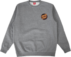 Screaming Hand Crewneck Gray