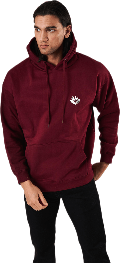 Classic Plant Hoodie Red
