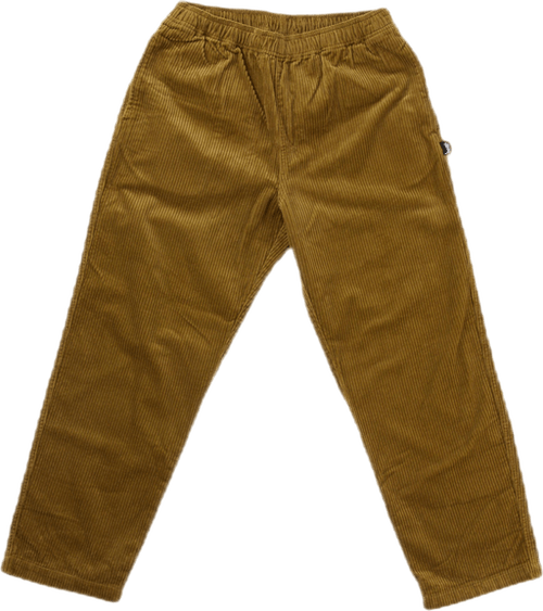 Wide Wale Beach Pant Green