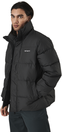 Danville Jacket Specter Check, Cypress / White
