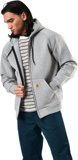 Car-lux Hooded Jacket Grey Heather / Grey