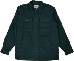 Owen Shirt Jac Bottle Green
