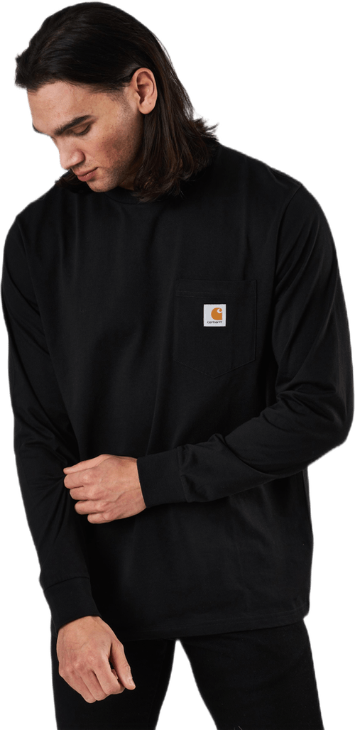 L/s Pocket T-shirt Black
