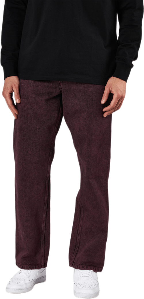 "Single Knee Pant 32"" Shiraz /crater Wash"