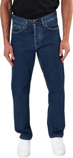Newel Pant Blue /stone Washed
