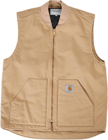 Classic Vest Dusty H Brown /rinsed