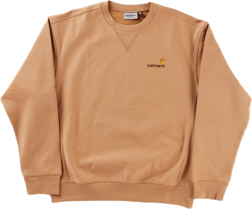 American Script Sweat Dusty H Brown /---