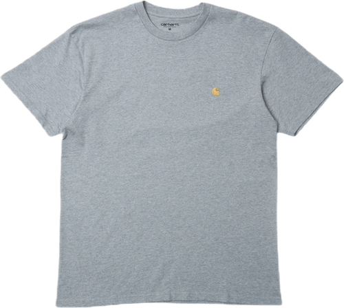 S/s Chase T-shirt Grey Heather / Gold /---