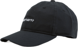 Canvas Script Cap Black / White /---