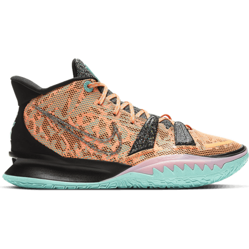 Kyrie 7 Atomic Orange/black-tropical T